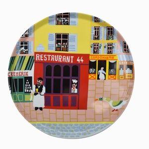 Philippe Deshoulieres Large Decorative Plate